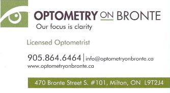 Optometry on Bronte